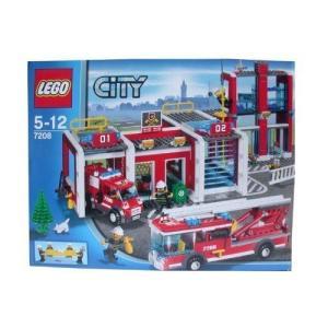 【LEGO(レゴ) シティ】 【LEGO・レゴ】シティ 消防署(7208)|worldselect