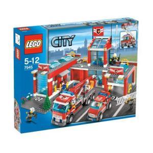 【LEGO(レゴ) シティ】 シティ 消防署 7945|worldselect