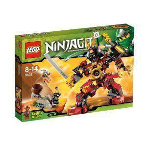 【LEGO(レゴ) ニンジャゴー】 ニンジャゴー サムライ・ロボ 9448