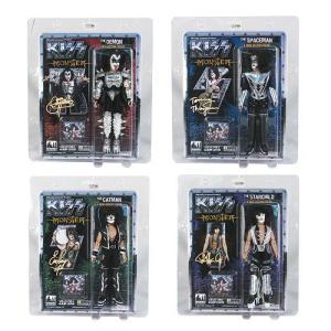 KISS(キッス) シリーズ 4 Monster アルバム 8インチ Action フィギュアセット|worldselect