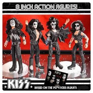 KISS(キッス) 1st アルバム シリーズ 2 8インチ アクションフィギュアセット|worldselect