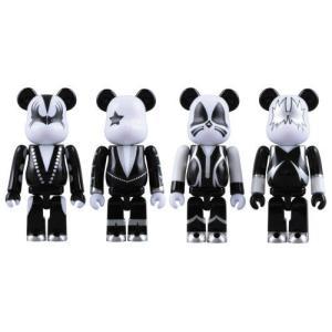 Medicom - KISS(キッス) pack 4 figurines Bearbrick 7 cm|worldselect