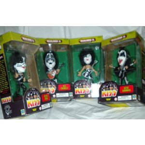 KISS(キッス) - 1999 - Equity Marketing Inc - Rock Headliners XL 4体セット Limited Ed LOW NUMBER|worldselect