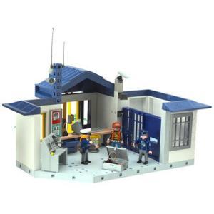 Playmobil(プレイモービル) ポリス 牢屋付警察署 3165|worldselect