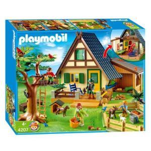 Playmobil(プレイモービル) 動物 森林ロッジ 4207|worldselect