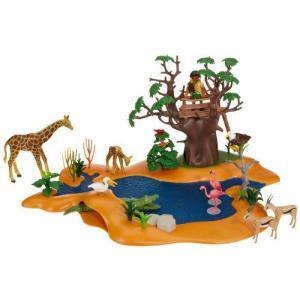 Playmobil(プレイモービル) アフリカの野生動物と水場 4827|worldselect