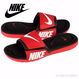 サンダル ナイキ メンズ レディース Nike Solarsoft Comfort レッド/ブラック/ホワイト【海外限定・正規品】