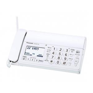わけアリ Panasonic おたっくす KX-PD215DL-W  デジタルコードレスFAX 迷惑電話対策機能搭載 ホワイト 親機のみ