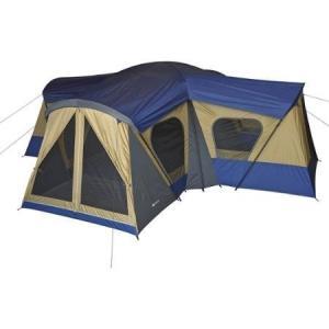 Ozark Trail Cabin Tent 14 Person Base Camp Outdoor, Multi color/Black