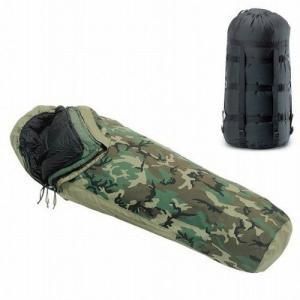 実物米軍 モジュラーシステム-34.4℃ シェラフ 寝袋