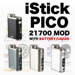 電子たばこ VAPE Eleaf iStick PICO 21700 MOD with BAttery&Liquid(REVIUS60ml)|worldvapeshop