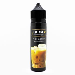 電子たばこ VAPE リキッド Milk coffee with caffeine 60ml【BI-SO】ミルクコーヒーwithカフェイン ビーソ worldvapeshop