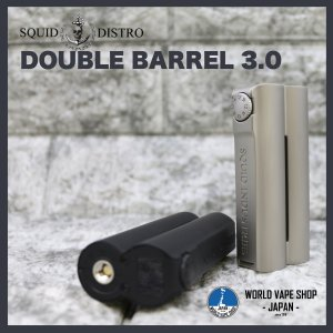 VAPE 電子たばこ Squid Industries Double Barrel V3 MOD|worldvapeshop