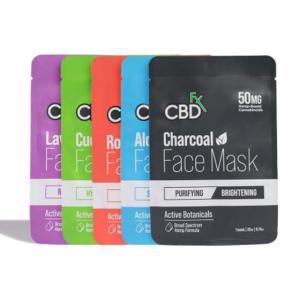 CBDfx Face Mask シービーディーエフエックス フェイスマスク CBD 250MG スキンケア|worldvapeshop