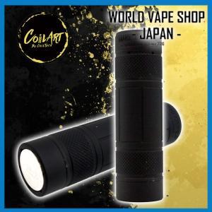 VAPE 電子たばこ メカニカルチューブデビューの一本として CoilART MAGE MECH V2.0 Black|worldvapeshop