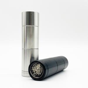 Cthulhu Tube Mod II クトゥルフ チューブ モッド セミメカニカル ボトムスイッチ SS/Black 電子タバコ VAPE 本体|worldvapeshop