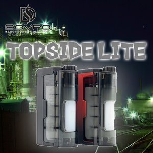 Dovpo Topside Lite 90W Squonk Mod ドブポ トップサイド ライト スコンカースコンク 電子タバコ VAPE 本体|worldvapeshop