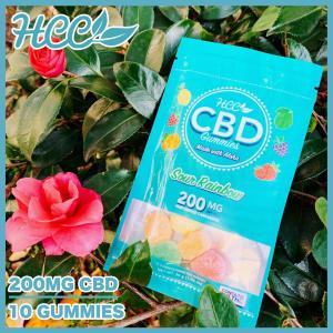 HCC Sweet and Sour CBD Gummies 200mg 10粒入り|worldvapeshop