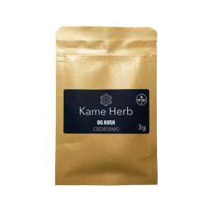 カメルイ KAMERUI カメハーブ Premium Kame Herb 3g プレミアムカメハーブ CBDハーブ OG KUSH / STRAWBERRY ZKITTLEZ|worldvapeshop