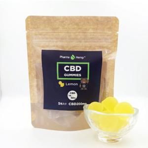 Pharma Hemp CBD GUMMY 5粒 ファーマヘンプ CBD グミ レモン/パイナップル|worldvapeshop
