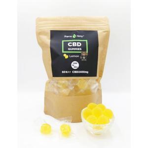 Pharma Hemp CBD GUMMY 60粒 ファーマヘンプ CBD グミ レモン/パイナップル|worldvapeshop