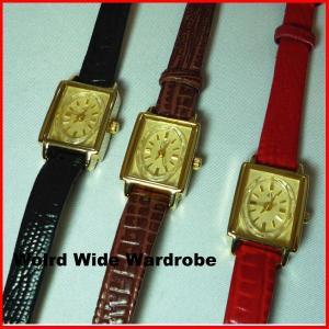 ★メール便発送OK★小ぶりできれい目!レトロな腕時計 worldwidewardrobe