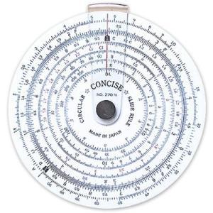 コンサイス 定規 円形計算尺 NO.270N 100812