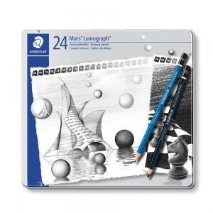 マルス ルモグラフ製図用高級鉛筆(100)とマルス ルモグラフ ブラック描画用高級鉛筆(100B)の...