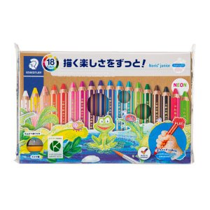 ステッドラー ノリス ジュニア 色鉛筆 18色セット 140 C18|wow