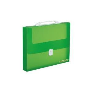 持ち運びに便利なプルアップ機能の取っ手付き。  ●ケースの表にカラータグのプレートが付いた「取っ手付...