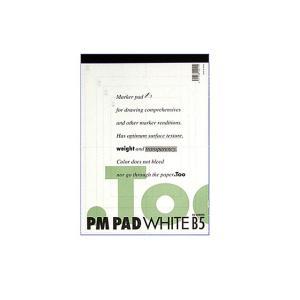 .Too COPIC コピック ペーパーセレクション PMパッド ホワイト B5 PM-B5