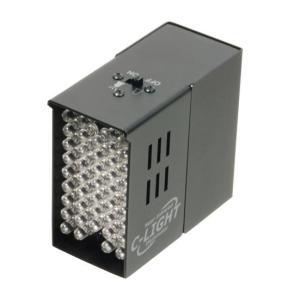 不可視タイプ近赤外線LED搭載 赤外線投光器 C-LIGHT (C-ライト、Cライト) wowsystem