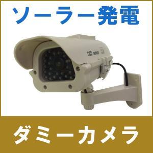 屋外型ソーラーパネル付ダミーカメラ DC-300|wowsystem