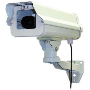 本格派 屋外用ダミー防犯カメラ IT-372|wowsystem