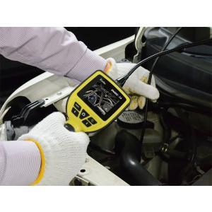 2.5型液晶モニター搭載、LEDライト付き防水スネイクカメラ SNAKE-16|wowsystem|02