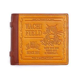 オールドブック二つ折り財布 いちご摘み わちふぃーるどダヤンダヤン|wpelle