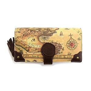 古地図カード財布#3 わちふぃーるどダヤン|wpelle