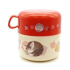 カップランチ 丸猫・赤  わちふぃーるどダヤン|wpelle