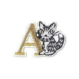 アップリケ刺繍ステッカー ダヤン・A  わちふぃーるどダヤン|wpelle