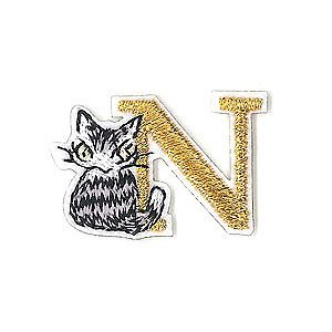 アップリケ刺繍ステッカー ダヤン・N  わちふぃーるどダヤン|wpelle