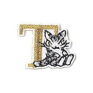 アップリケ刺繍ステッカー ダヤン・T  わちふぃーるどダヤン|wpelle
