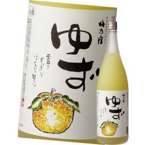 梅乃宿 リキュール ゆず酒 1800ml