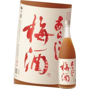 梅乃宿 リキュール あらごし梅酒 1800ml