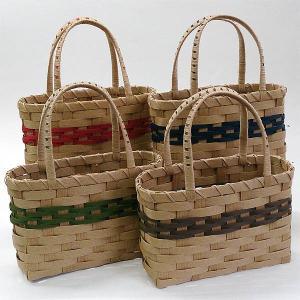 紙バンド手芸トライアルキット カラーバッグ とばし編みキット...
