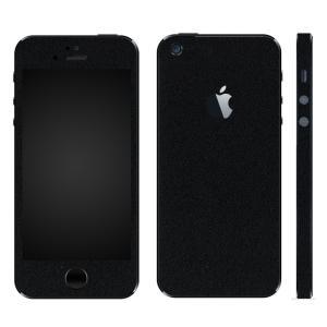 iPhoneSE iPhone5S iPhone5 スキンシール 全面 シール ケース カバー wraplus 選べる31色 ブラック 黒|wraplus