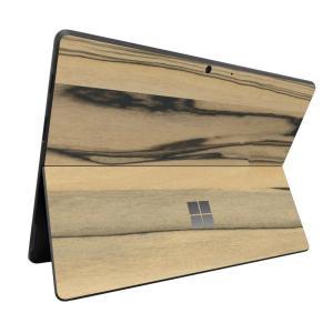 Surface ProX スキンシール ケース カバー 保護 フィルム 背面 wraplus 選べる31色 パーシモン|wraplus