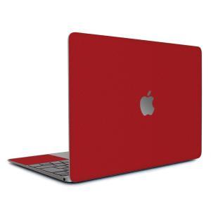 Macbook Air 13インチ スキンシール ケース カバー ステッカー フィルム wraplus 選べる31色 レッド 赤|wraplus