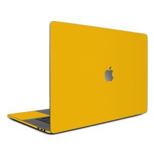 Macbook Pro 13インチ スキンシール ケース カバー フィルム 2016 Retina 対応 wraplus 選べる31色 イエロー 黄色|wraplus