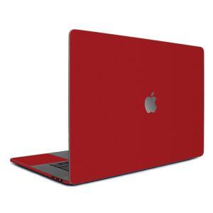 Macbook Pro 13インチ スキンシール ケース カバー フィルム 2016 Retina 対応 wraplus 選べる31色 レッド 赤|wraplus