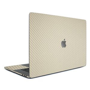 Macbook Pro 13インチ スキンシール ケース カバー フィルム 2016 Retina 対応 wraplus 選べる31色 ゴールドカーボン|wraplus